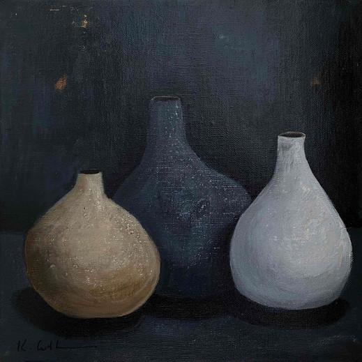 Three Clay Pots (sold)
