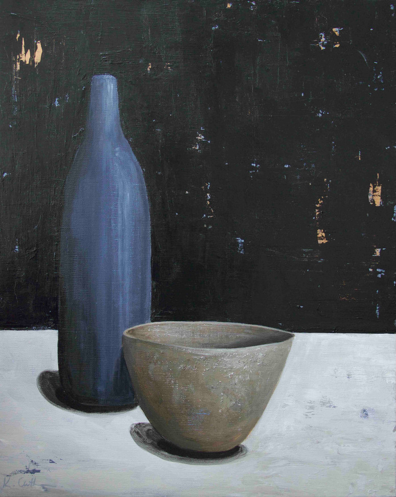 Bottle and Bowl