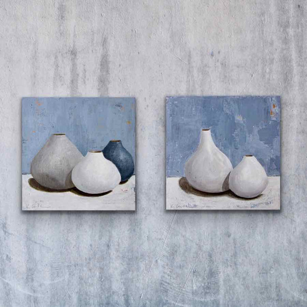 Small Vessels, Small White Vessels (sold)