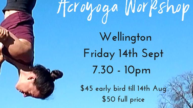 Wellington Acroyoga Workshop