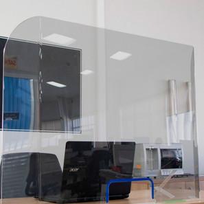 Barreira de proteção escritorio