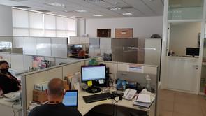 Barreira de proteção escritorio 4
