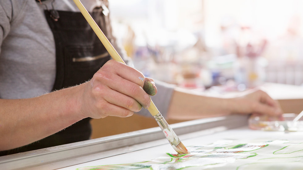 Master's Painting for Grades 6-8 (2:00)