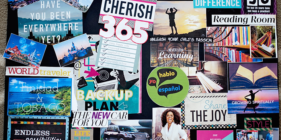"""""""Say yes to your dreams"""" Vision Board & intention setting Workshop (1)"""