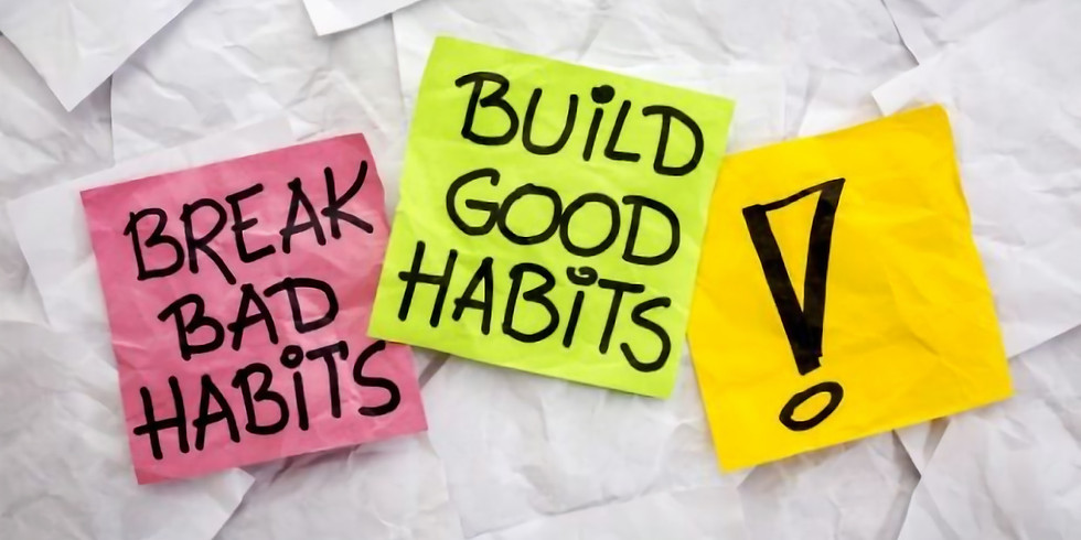Change your habits, change your life | New Year 2020 personal growth Workshop