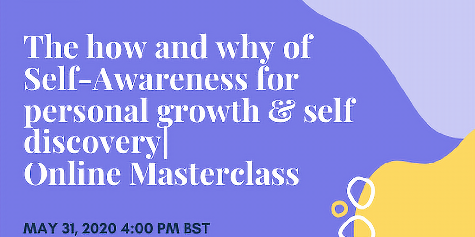 The how and why of Self Awareness for personal growth & self discovery