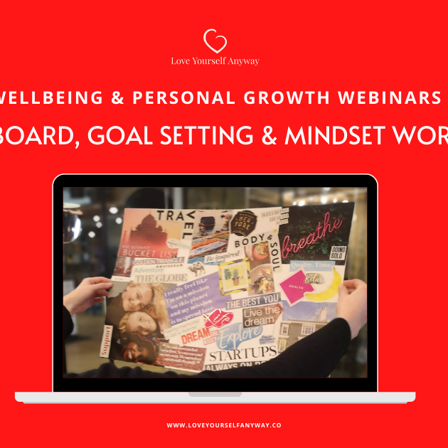 Vision Board, Goal setting & Mindset Workshop: 2021 Visual Goal setting ONLINE