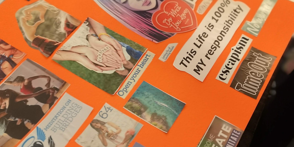 Vision Board experience   Say yes to your dreams, goals & desires for 2020 (2)
