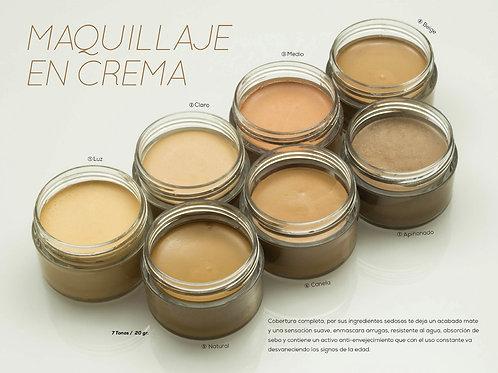 Maquillaje en crema JS