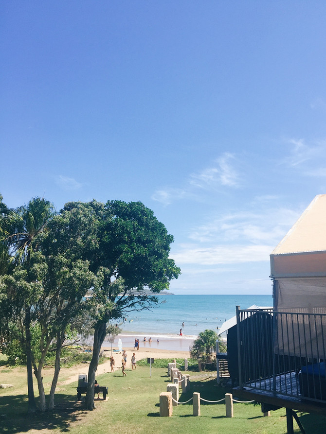 A beachside weekend getaway