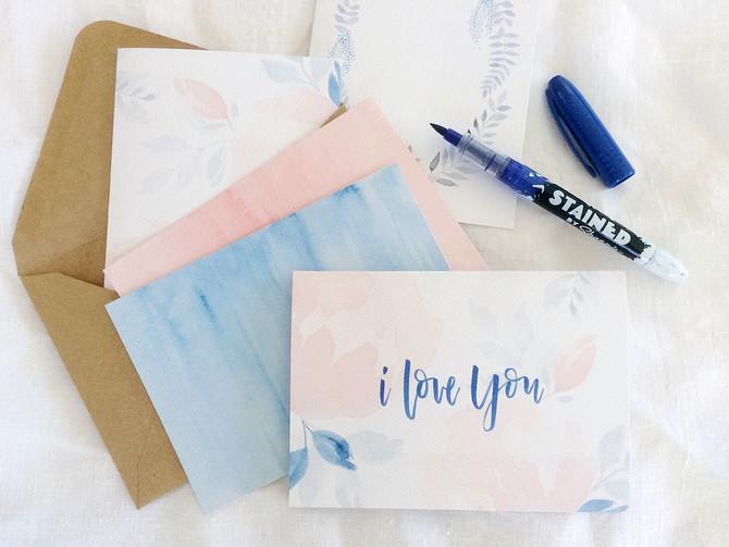 Free Printable Valentine's Day Stationery