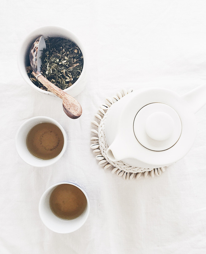 DIY teapot trivet
