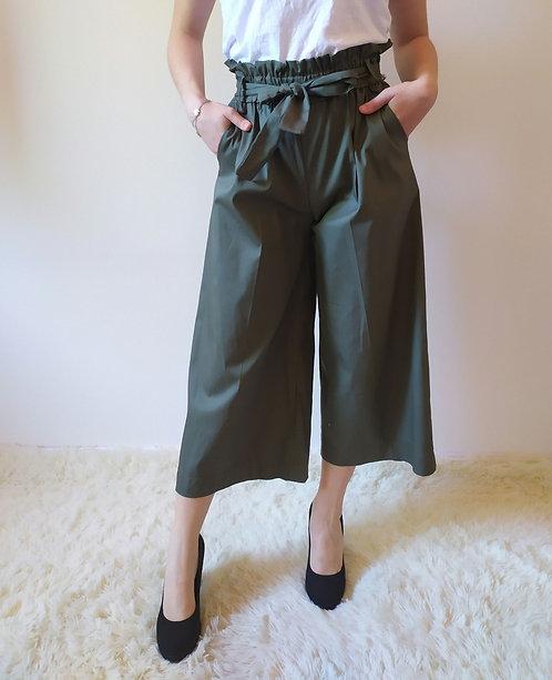 Pantalone ampio con fiocco Betty Comfy-Chic