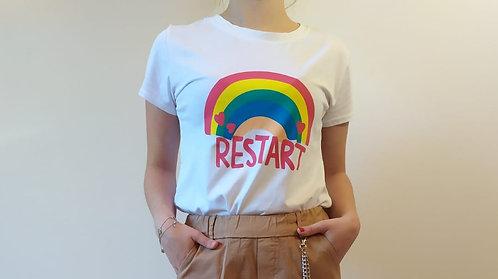 T-Shirt Arcobaleno Betty Restart