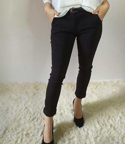 Pantalone basico e classico con Cintura