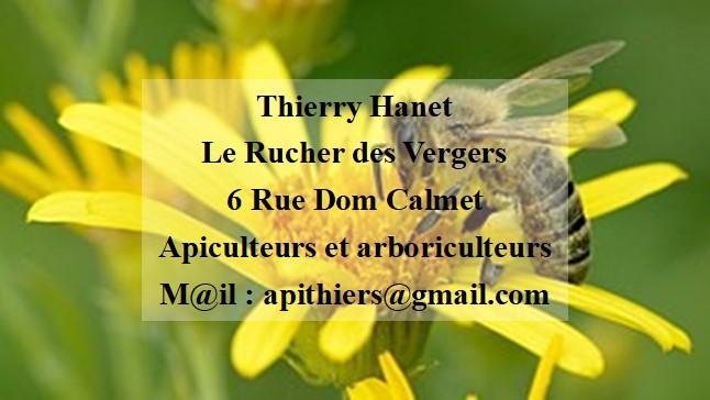 Thierry Hanet le Ruchers des Vergers