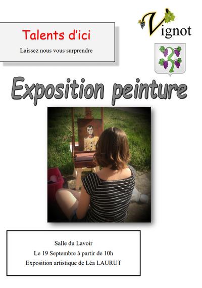 Exposition Léa Laurut