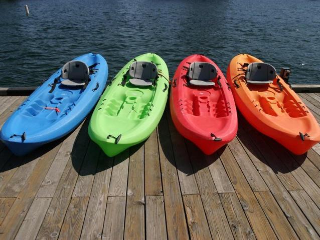 Kayak, Canoeing, and Paddle Boarding