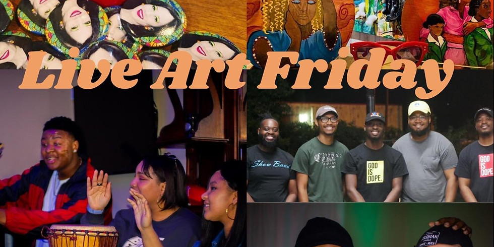 Live Art Friday! I Am More Than Edition