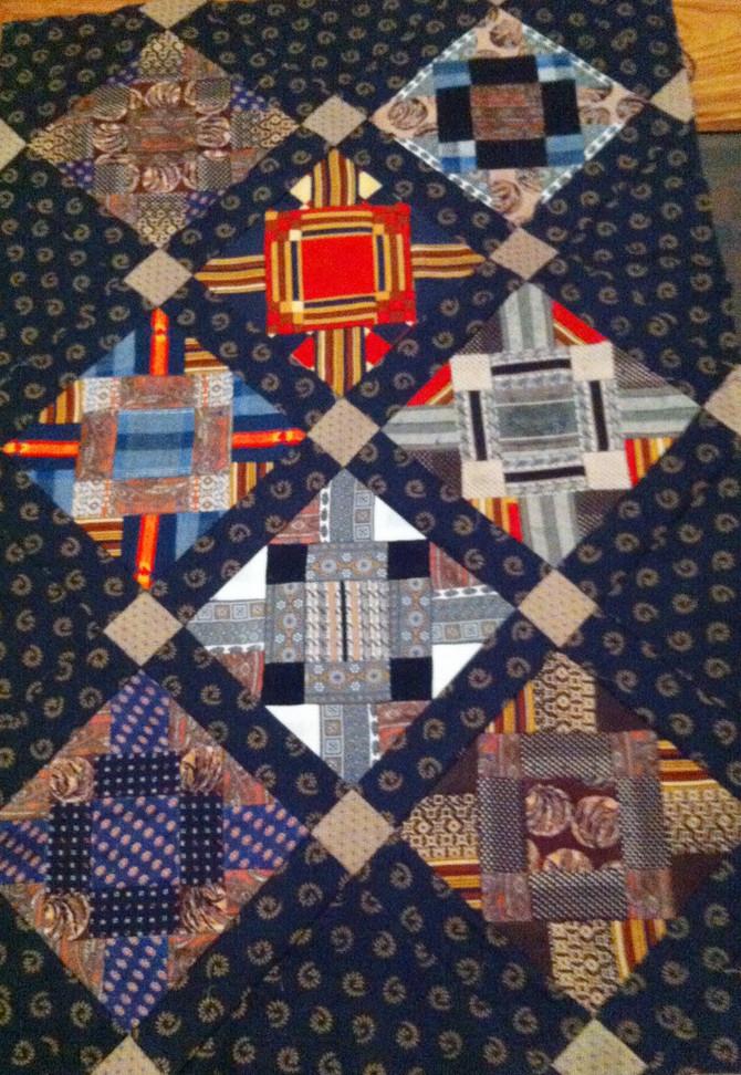 A quilt as a memorial stone*