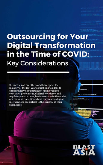 WHITEPAPER: Outsourcing for Your Digital Transformation in the Time of COVID