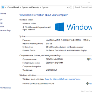 INSTALLATION OF SERVICES ON WINDOWS 10 IN MILITARIZED ZONE