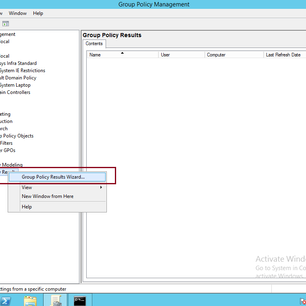 Simple Guide GPO in Windows Server 2012 R2 Part 2 - Perform Resultant Set of Policy (RSoP)