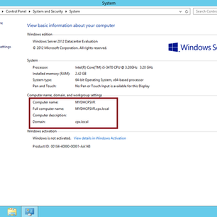 Simple Step Deploy DHCP Services in Windows Server 2012