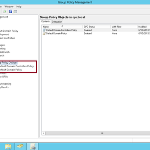 Simple Guide  How to Prohibit access to control panel for Domain Users in Server 2012