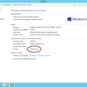 Simple Guide How to Rename Domain Name in Windows Server 2012