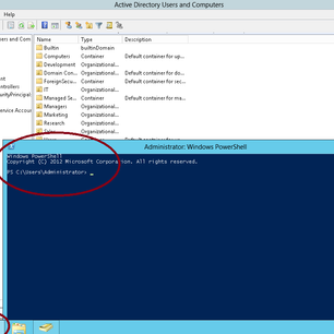 Create a User Account using PowerShell in Server 2012