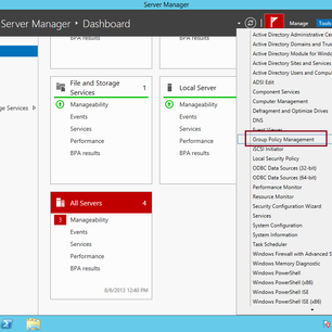 Simple Guide Implementing Group Policy in Windows Server 2012 R2