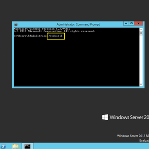 Simple Step Create a snapshot of AD DS in Windows Server 2012 R2 by using NTDSUTIL