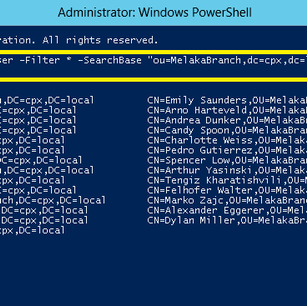Force all AD user account change their password at next logon using PowerShell