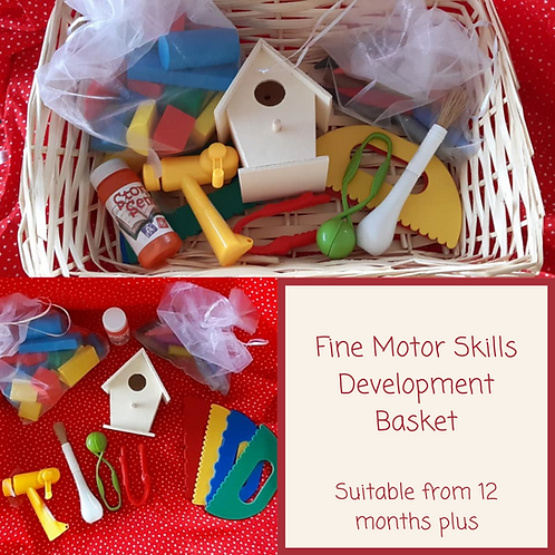Fine Motor Skills Development Basket