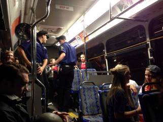 halloween under cover: a ride on the bus