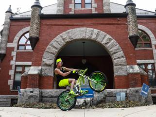 The Neon Wheel Surfer