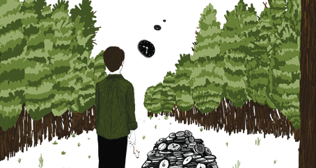 Time is Eternal in the Hemlock Forest