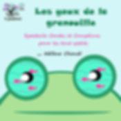 Affiche les yeux de la grenouille .jpg