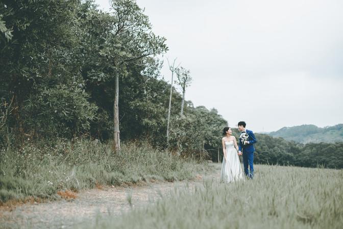 美式婚紗 - Skinny & Kei
