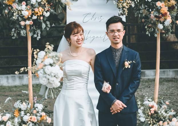Chris& Abigail < 覓蜜基地-戶外婚禮>
