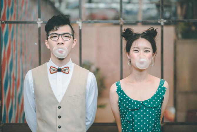 美式輕婚紗 - David & Grace