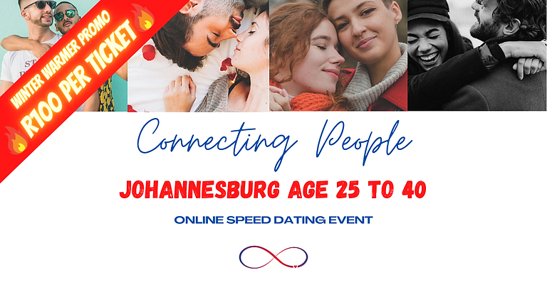 Johannesburg, Speed Dating Age 25 to 40