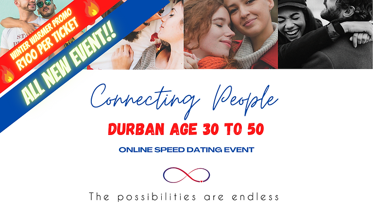 Durban, Speed Dating Age 30 to 50