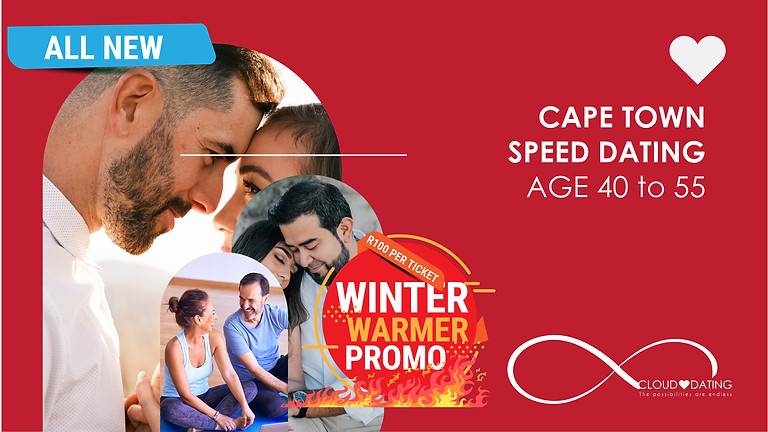 Cape Town, Speed Dating Age 40 to 55