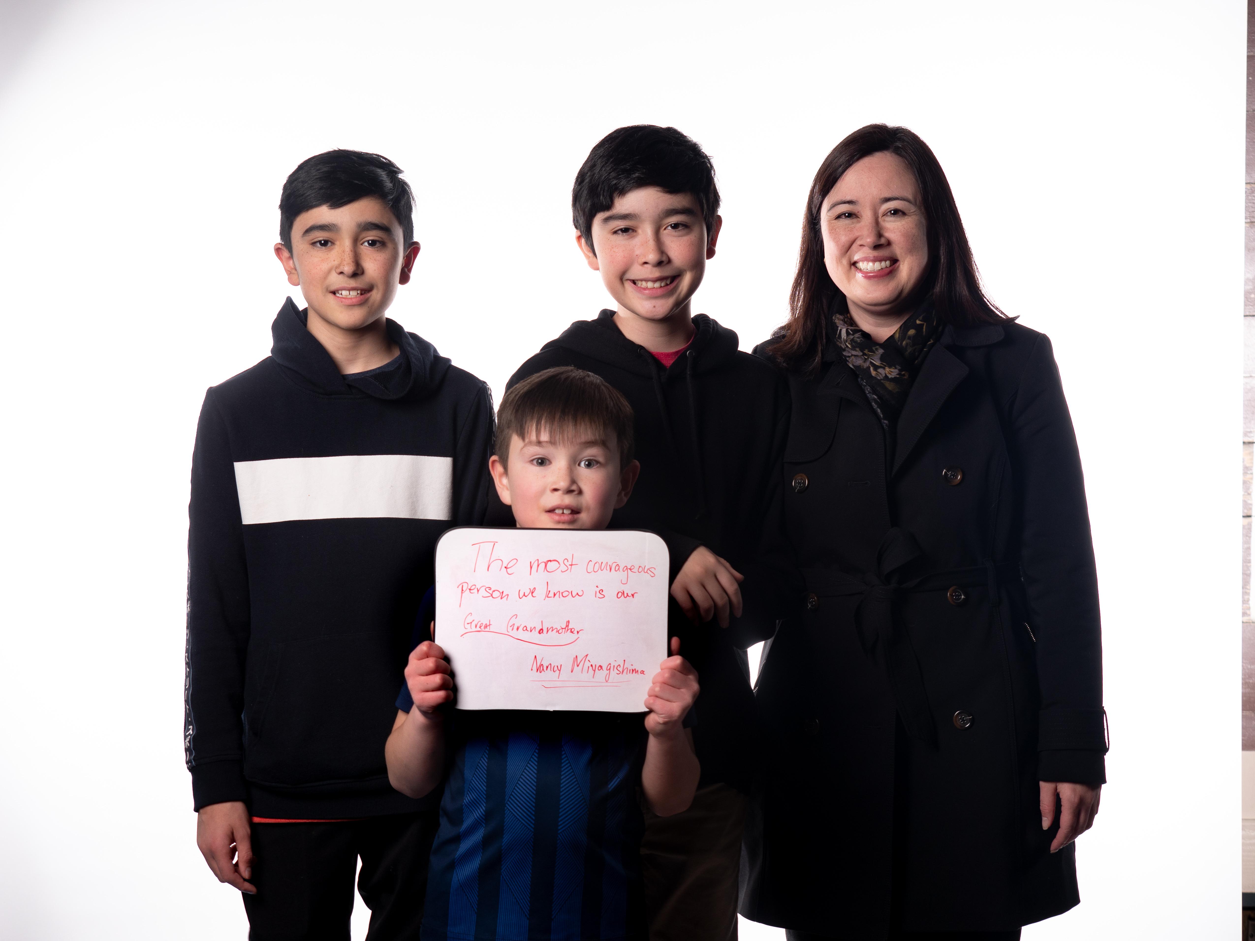 Miyagishima Family
