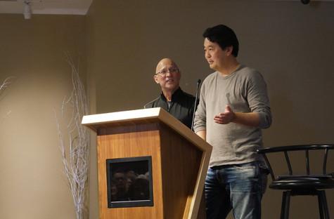Robert Horsting and Shane Sato