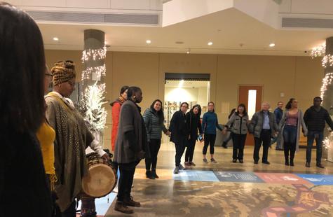 African Drum Circle with Fatu Henderson