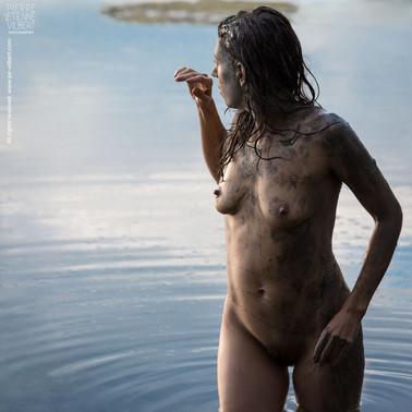 """""""Révélation""""  2014  Modèle : Claire Brandin Idée originale : Claire Brandin Assistant : Stéphane Wolffer"""