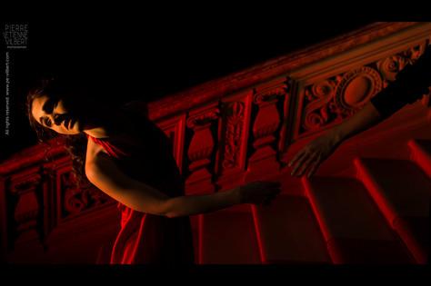 """""""Eurydice""""  L'histoire aux côtés de celle qui est gentiment renvoyée en enfer par la faute d'un autre... 2013  Modèle : Magalie Ehlinger MUA : Émeline  Vogel Coiffure : Eric Hua Remerciements : Raymond Theiller et Serge Brentrup, le Palais du Rhin à Strasbourg"""
